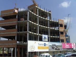 La estructura en los edificios