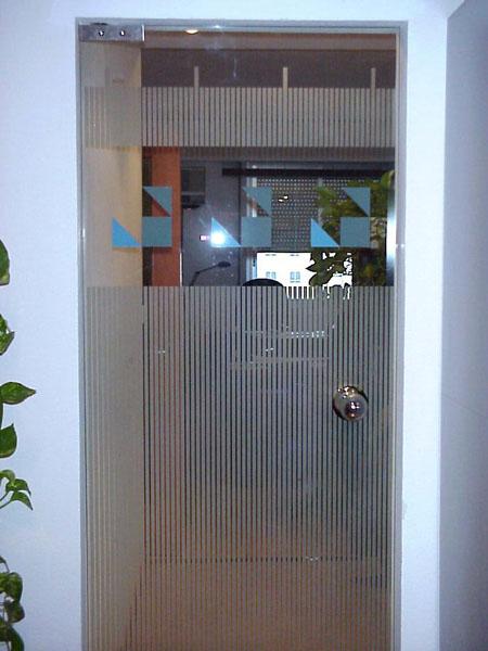 puertas de paso cristal