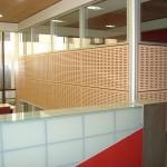 mamparas oficinas aislantes