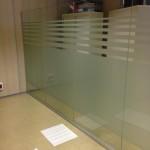 mamparas oficinas vidrio