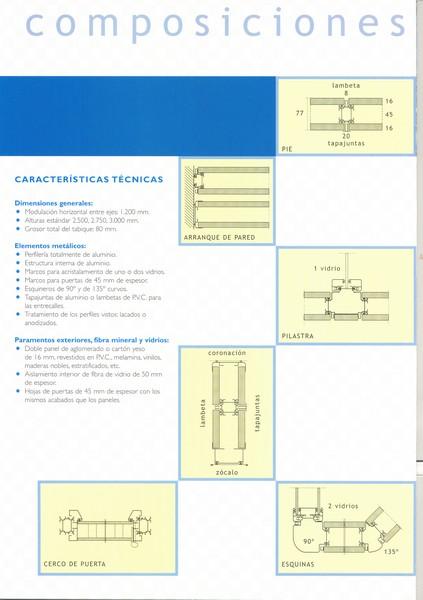 modulacion mamparas 001 - 16. Modulación y detalles de medición