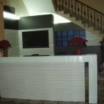 mostradores recepción edificios