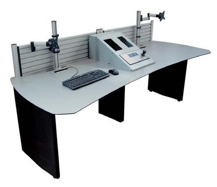 mesas operadores videowall